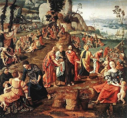 """Résultat de recherche d'images pour """"miracle multiplication des pains"""""""